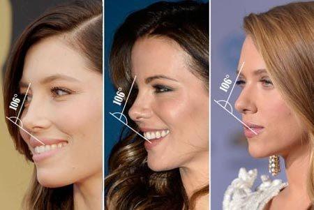 chỉ số 'vàng, hoàn hảo, mũi đẹp, phụ nữ, phái yếu
