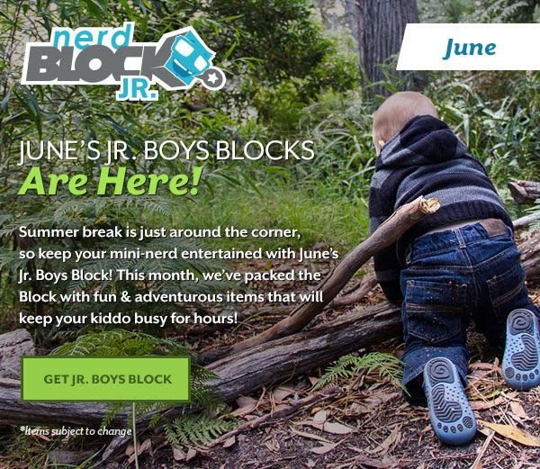 June's Jr. Boys Blocks are here!