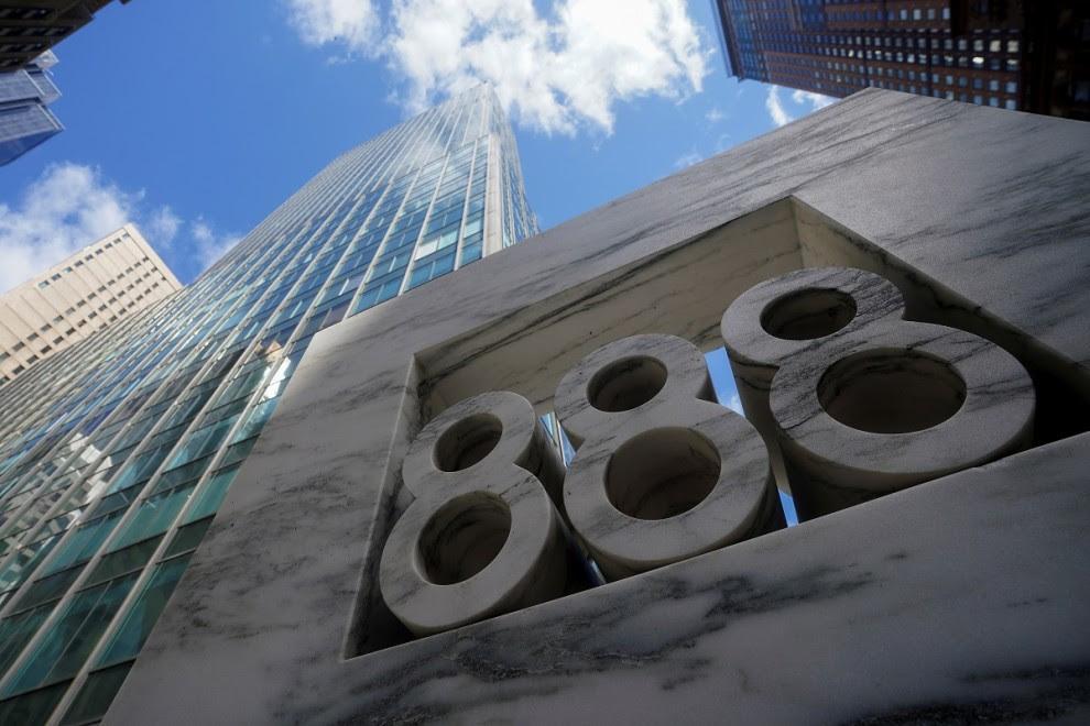 888, el edificio que alberga Archegos Capital en Manhattan, New York City (EEUU).