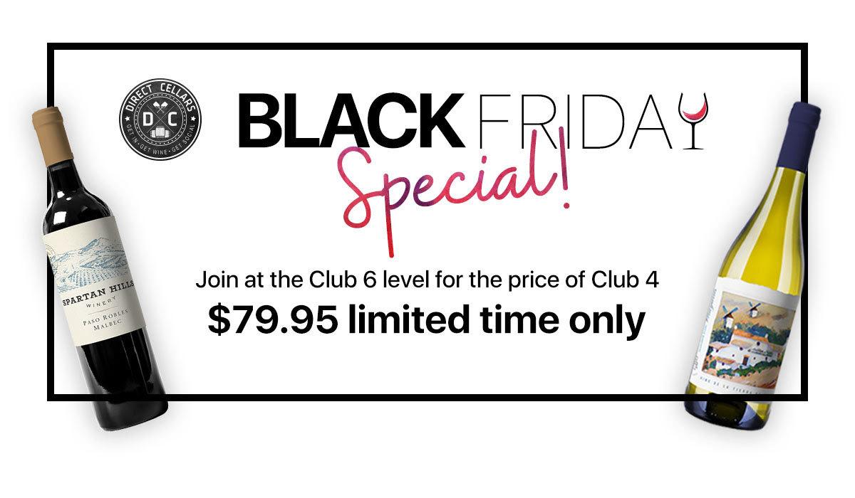 Black Friday Club 6 Special