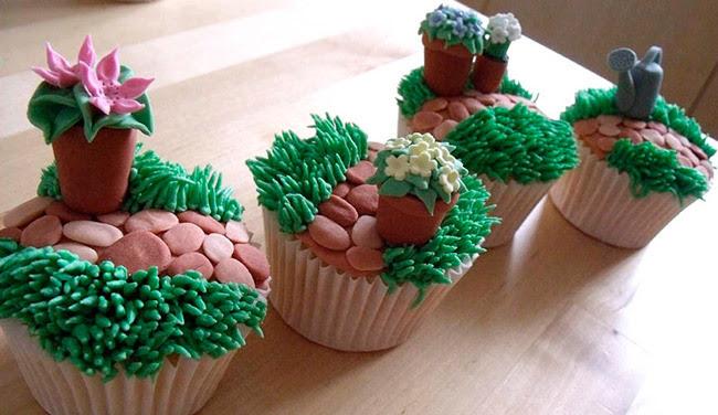 gardent cupcakes