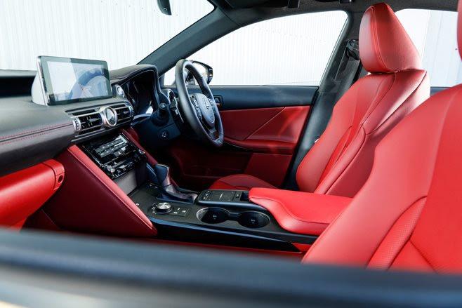 2021 Lexus IS300 interior