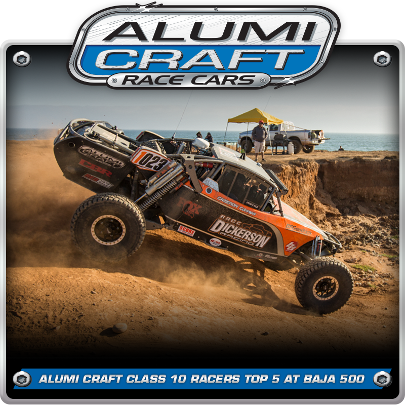 Alumi Craft Class 10 Racers Top 5 at Roughest Baja 500