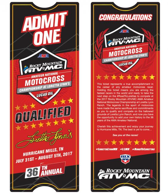 Each racer who completes their #RoadToLorettas at the Regional Championship will receive an invitational ticket!