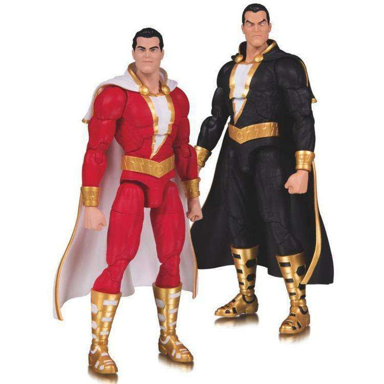 Image of DC Essentials Shazam & Black Adam Two-Pack