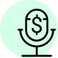Money Podcasts Icon