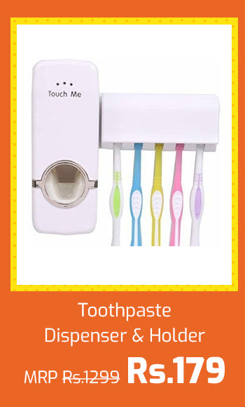 Toothpaste Dispenser and Holder