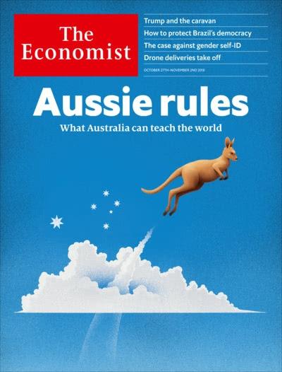 Economist magazine cover