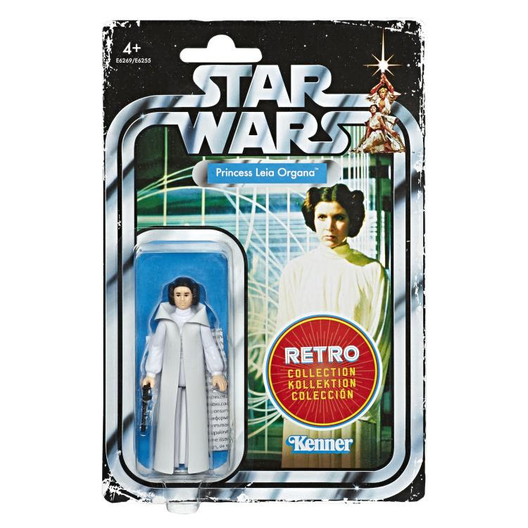 Image of Star Wars The Retro Collection Action Figures Wave 1 - Princess Leia Organa
