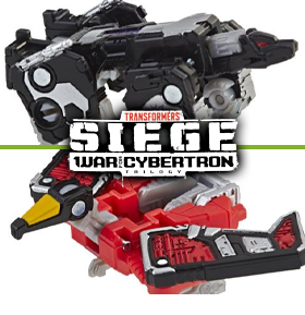 TRANSFORMERS WAR FOR CYBERTRON: SIEGE MICROMASTER TWO-PACKS