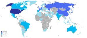 Kategorie mocarstw w stosunkach międzynarodowych: - supermocarstwo - wielkie mocarstwa - mocarstwa regionalne - małe (lokalne) mocarstwa