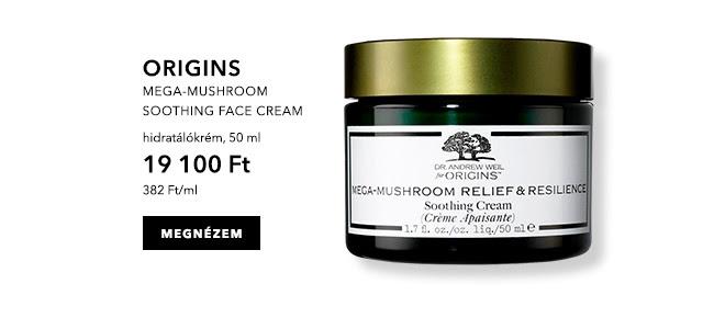 Mega-Mushroom soothing face cream - hidratáló krém