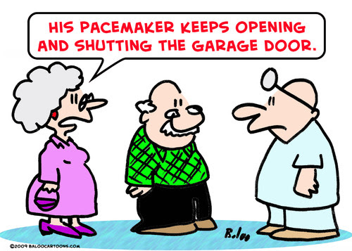 Image result for pacemaker cartoon