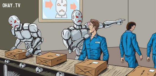 ,tự động hóa,Bill Gates,Stephen Hawking,Elon Musk,trí thông minh nhân tạo,việc làm
