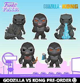 Pop! Movies: Godzilla vs. Kong