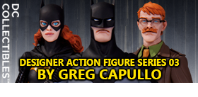 DC DESIGNER FIGURES BY GREG CAPULLO