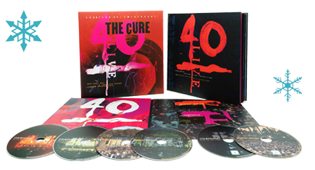 The Cure 40 Live packshot