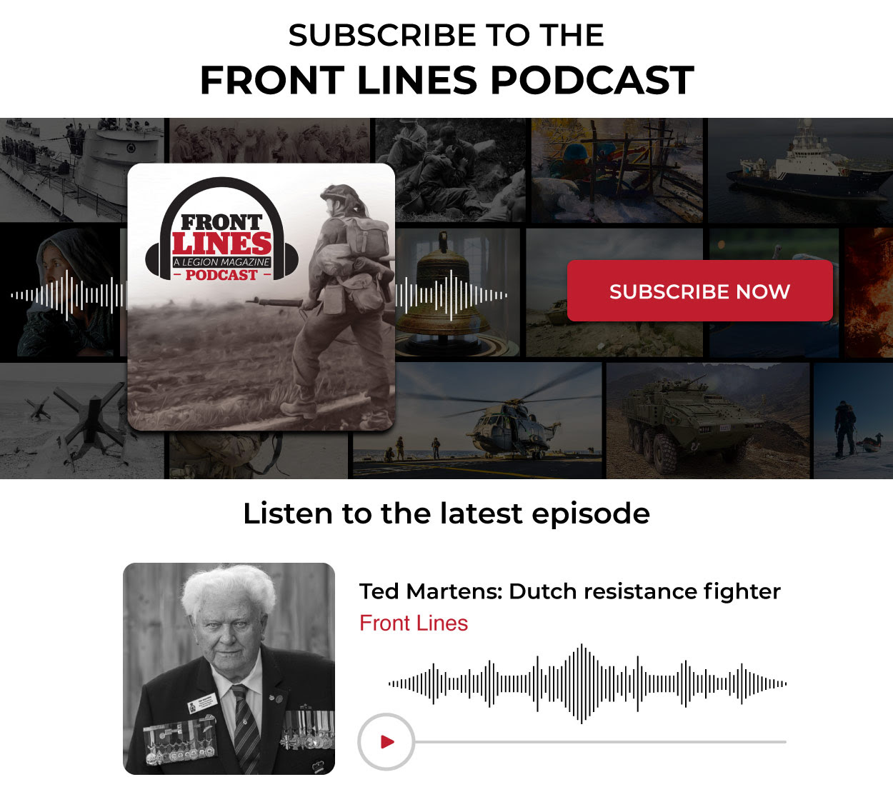 Ted Martens: Dutch resistance fighter