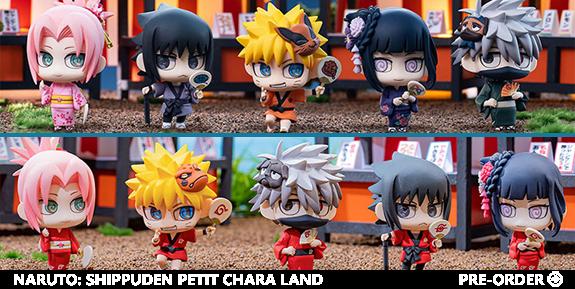 Naruto: Shippuden Petit Chara Land (10th Anniversary Ver.) Box of 10 Figures