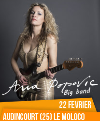 Ana Popovic à Audincourt