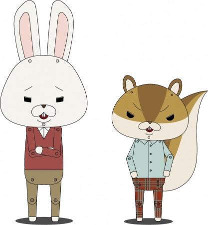 紙兎ロペ(ロペ、 アキラ先輩)
