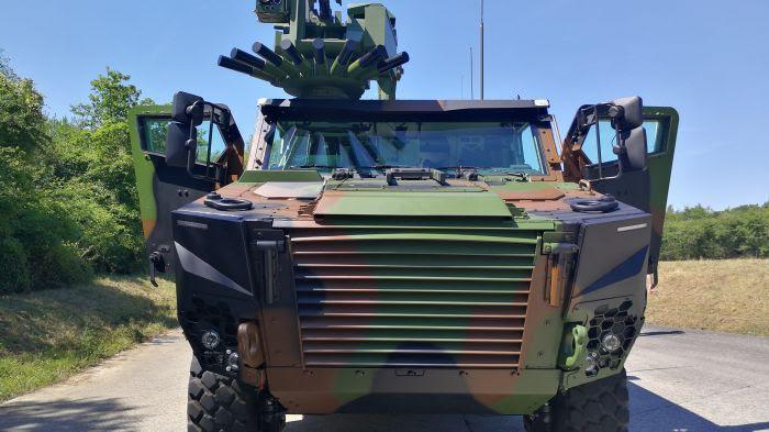 Le Griffon, blindé de l'armée de terre bourré de technologie