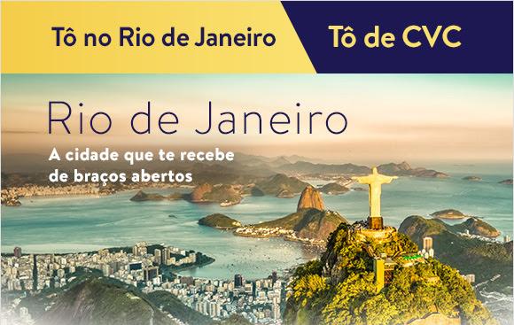 Rio de Janeiro, a cidade que te recebe de braços abertos.