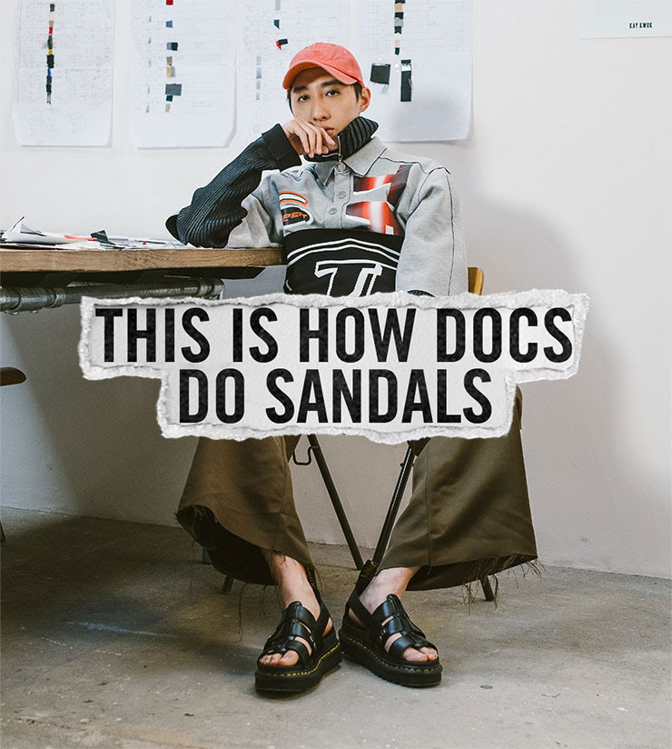 THIS IS HOW DOCS DO SANDALS