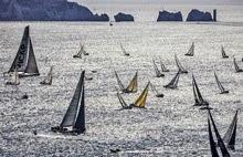Rolex Fastnet Race start to Needles