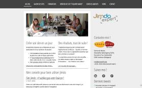 Le site Jimdo d'Amaranthe