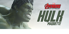 SIDESHOW AGE OF ULTRON HULK MAQUETTE