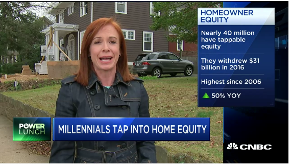Millennials Tap Into Home Equity
