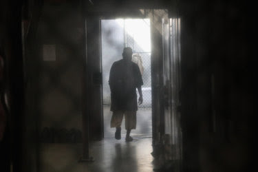 "An inmate at the United States prison at Guantánamo Bay, Cuba, in October. President-elect Donald J. Trump's campaign vows to reinstate the use of torture — and to fill Guantánamo with ""some bad dudes"" — have human rights experts fearing that authoritarian regimes will see it as a green light to carry out their own abuses."