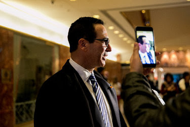 The banker Steve Mnuchin is Donald Trump's nominee for Treasury secretary. He has very little policy experience.