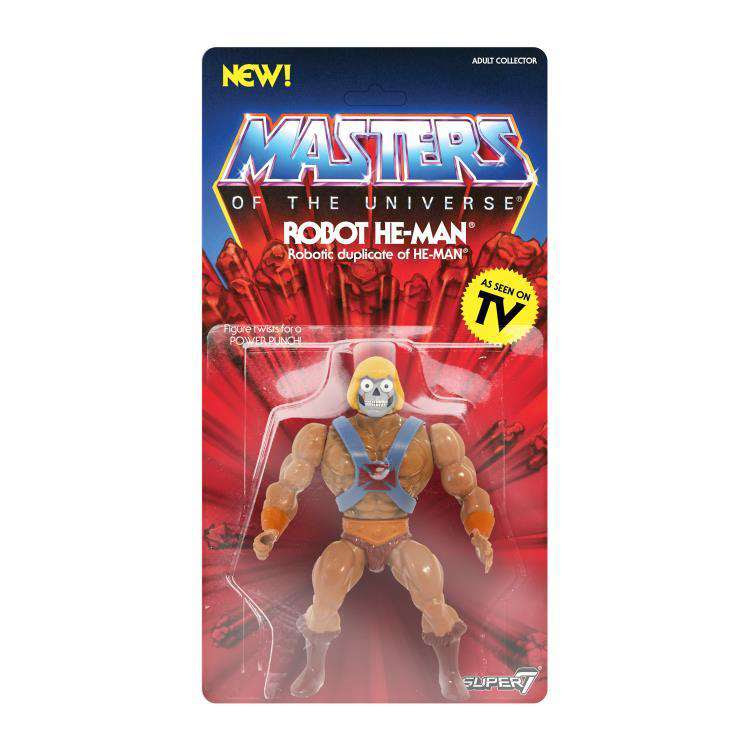 Image of Masters of the Universe Vintage Wave 2 - Robot He-Man
