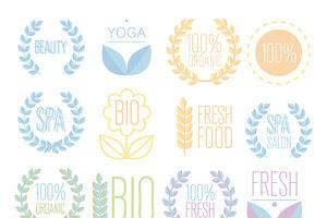 Organic,bio,ecology natural logos