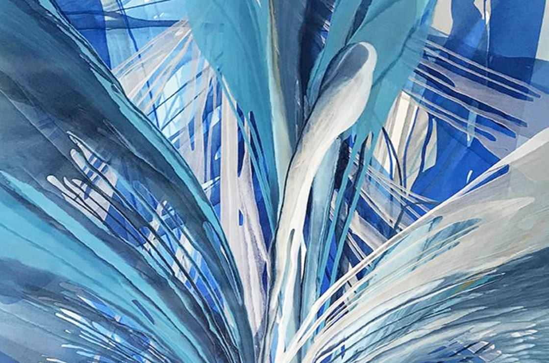 Presentes da arte: Pinturas abstratas novas