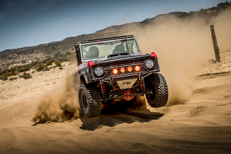 Caballo Del Diablo, Yokohama Tire, Ford Performance, Method Race Wheels, FOX, 4WP, Rigid Industries, Deaver, Elite Broncos
