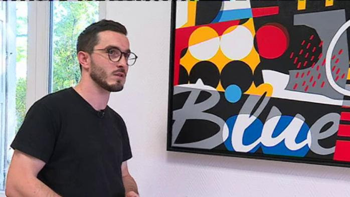 Stéphane Opéra, le peintre qui change le jazz en tableaux