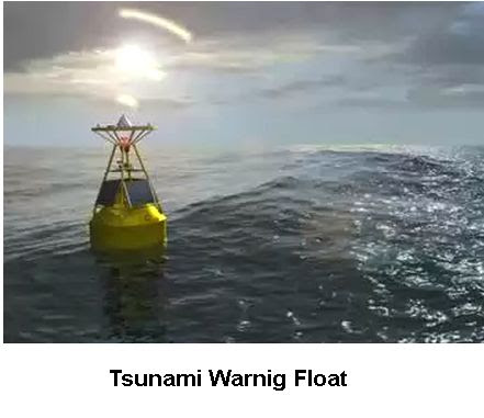 Tsunami warning buoy