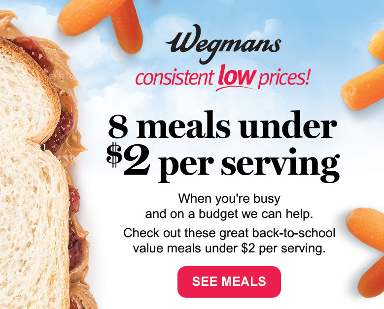 Wegmans Consistent Low Prices