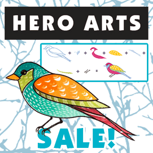 Get 15% off or More on Hero Arts!
