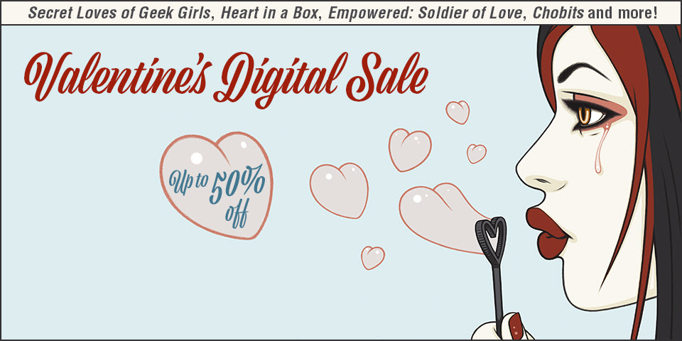 VALENTINE'S DAY DIGITAL SALE