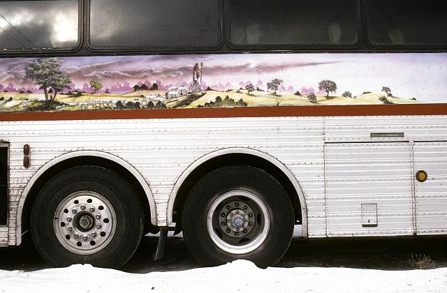 Salem Travellers Bus, Lawndale, Chicago, 1990