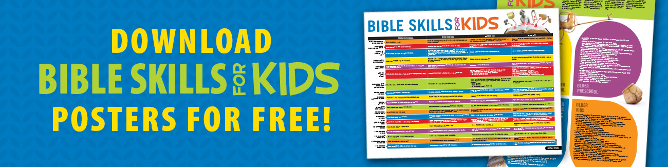 Download Bible Skills for Kids posters for free!