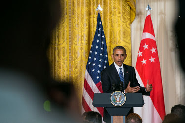 President Barack Obama during a press conference at the White House August 2.