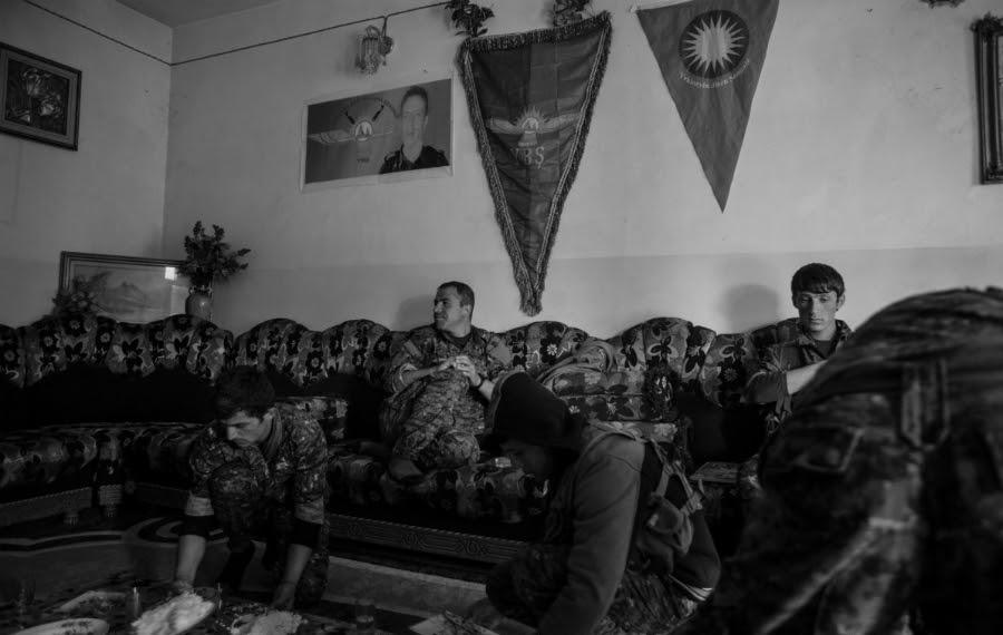 Irak YBS milicia yezidi la-tinta