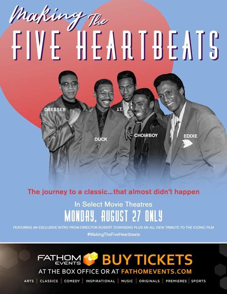 "9ec45556 6188 4262 a67a 204f40b87368 Robert Townsend's New Documentary ""The Making of The Five Heartbeats"" In Theaters Nationwide"