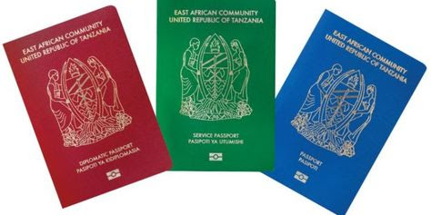 Image result for PASSPORT MPYA ZA TANZANIA