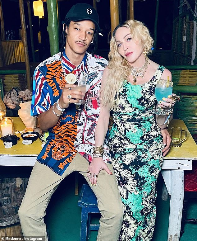 Romance: Madonna is in a relationship withAhlamalik Williams, 27, who she met back in 2015